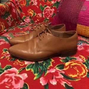 Madewell oxfords size 7